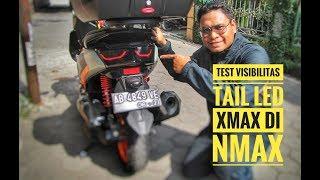 9. Tes Visibilitas : Lampu Xmax di Nmax, Hasilnya ??