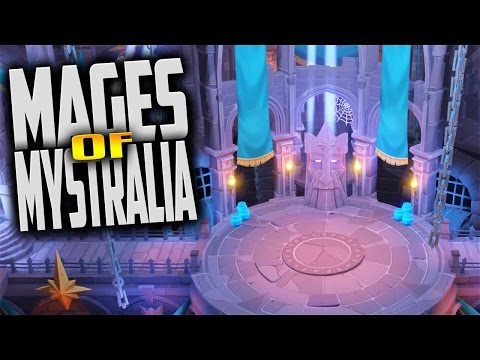 Mages of Mystralia - Spell Crafting Action Adventure (Let's Play Mages of Mystralia Gameplay Demo)