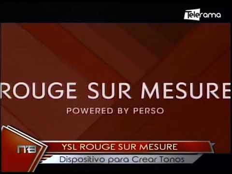 YSL Rouge Sur Mesure dispositivos para crear tonos
