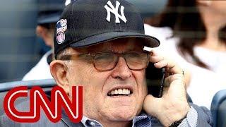 New York Yankees crowd boos Giuliani