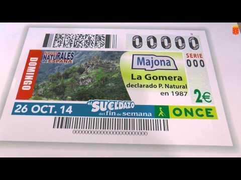 El Cabido presenta el cupón de la ONCE con la imagen del Parque Natural de Majona