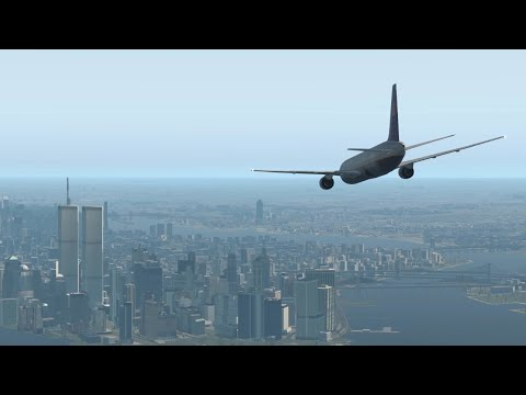 9/11 | UA Flight 175 - Crash Animation [X-Plane 11]