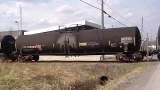 Hawkesbury (ON) Canada  City new picture : Canadian National Railway Hawkesbury Branchline Eastern Ontario Train 589