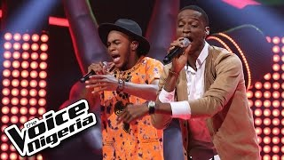 Prime vs Ralph sing 'Rude' - The Voice Nigeria 2016