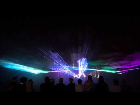 Lazerių ir fejerverkų šou jubiliejaus proga
