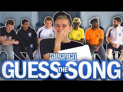 SIDEMEN GUESS THE SONG CHALLENGE!