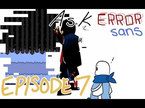 """Ask Error! Sans 【Comic Dub】Part 7: The """"Awful, Crowded"""" Multiverse"""