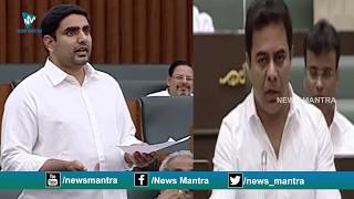 Video Difference Between Nara Lokesh and KTR Speech at Assembly Will SHOCK You! | News Mantra MP3, 3GP, MP4, WEBM, AVI, FLV Desember 2018