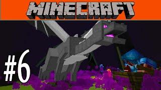Minecraft - Ender Dragon Fight & Elytra Flying #6