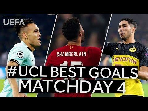 MARTÍNEZ, OXLADE-CHAMBERLAIN, HAKIMI: #UCL BEST GOALS, Matchday 4
