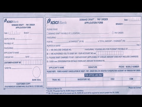 Video IN-How to fill ICICI Bank DD Application Form download in MP3, 3GP, MP4, WEBM, AVI, FLV January 2017