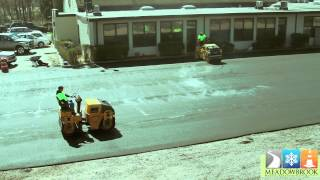 Meadowbrook Paving Contractors YouTube video