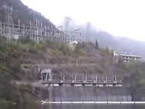 Manapouri Underground Hydroelectric Power Station. Water Intake. Part 3.