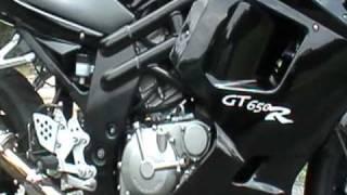 10. 2008 Hyosung GT650R Mods