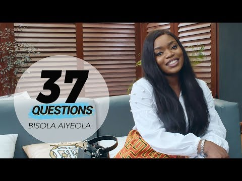 37 Questions with Actress & Singer Bisola Aiyeola