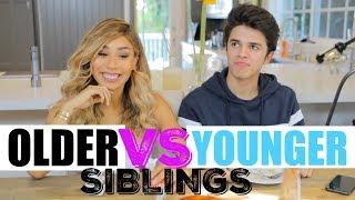 Video Older Siblings VS Younger Siblings (w/ MyLifeAsEva) | Brent Rivera MP3, 3GP, MP4, WEBM, AVI, FLV Juli 2018