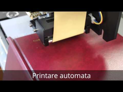 Prezentare video Masina de imprimat folio SL-30C