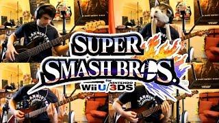 Super Smash Bros 4 Rock Guitar Cover – Menu Theme