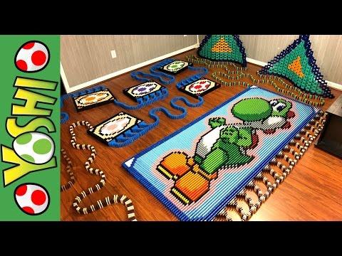 Yoshi in 16 636 Dominoes