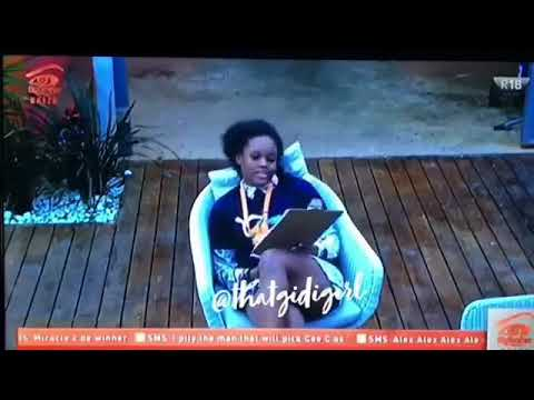 Ceec has started with miracle again BBNaija 2018