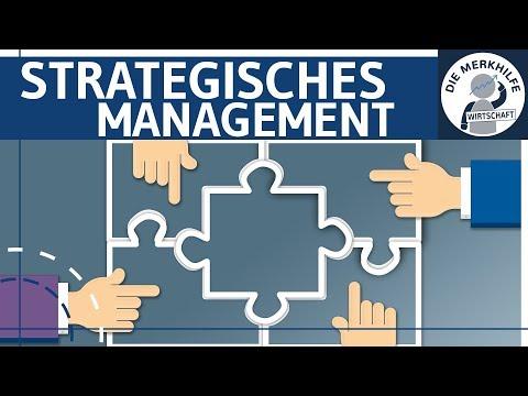 Strategisches Management einfach erklärt - Begriff, Inhalt, Durchführung - Unternehmensführung