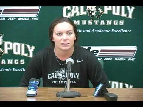 Cal Poly Freshman Libero Katherine Brouker
