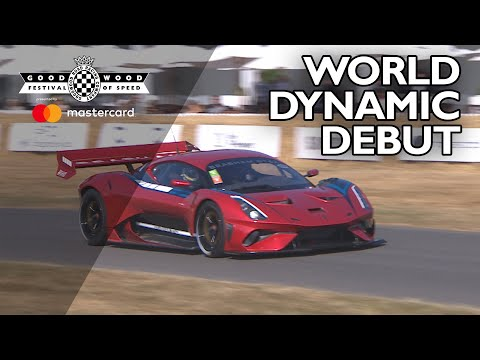 Brabham BT62 World Dynamic debut at FOS