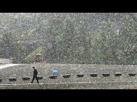 Φθινοπωρινά χιόνια στο Τόκιο