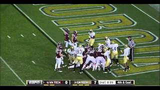Logan Thomas vs Georgia Tech (2011)