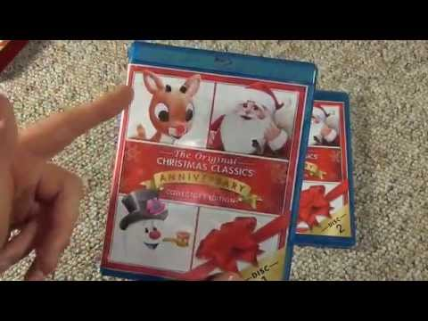 The Original Christmas Classics Anniversary Collector's Edition Blu-Ray Unboxing
