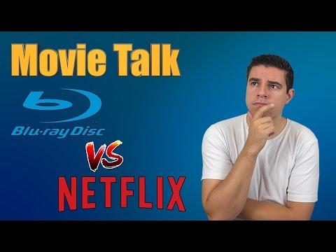 Movie Talk - Physical media vs Online streaming