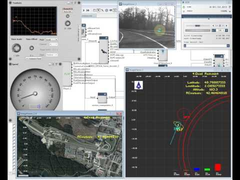 Hybrid fusion algorithm for vehicle positioning from IFSTTAR in RTMaps