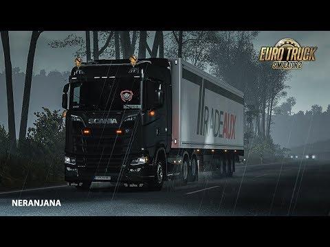Heavy Rain v2.0 For ETS2 1.34/1.35