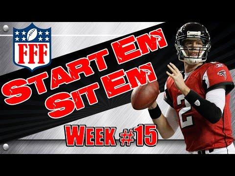 Week 15 Start'Em Sit'Em || Sleepers || Waivers || 2014 Fantasy Football