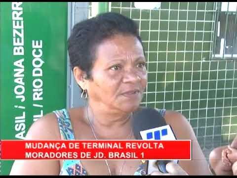 [RONDA GERAL] Mudanças de terminal revolta moradores de Jardim  Brasil I