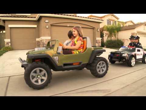 Sidewalk Cops - Kid Trax Dodge Charger Police Car