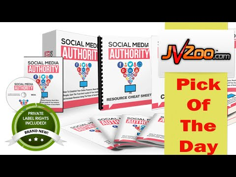 ❤JVZoo Pick Of The Day| Social Media Authority PLR Review| Social Media Authority PLR Bonus