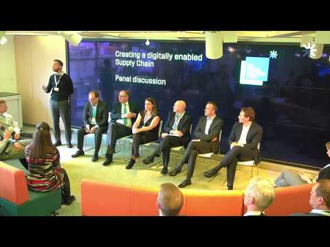Expert panel session - Digitally Enabled Supply Chain