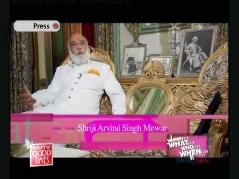 Shriji Arvind Singh Mewar and Mr. Lakshyaraj Singh Mewar in an interview with NDTV Good Times