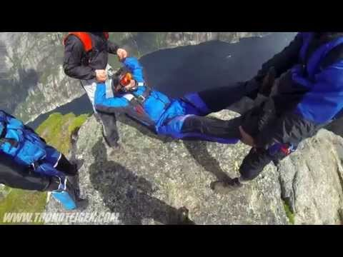 Why Would These Guys Be Tossing Their Friend Off A Cliff?  You Gotta See This!