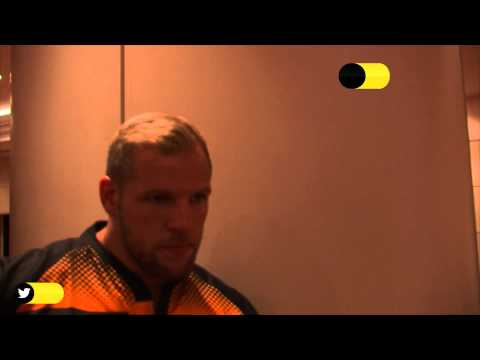50/50 Quickfire Questions - James Haskell