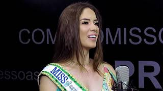 Entrevista com Betania Moura, Miss Mato Grosso do Sul