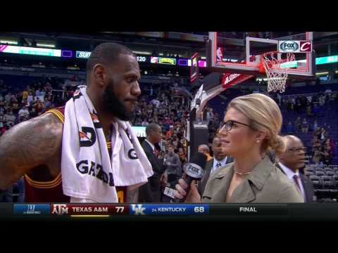 LeBron James credits Cavaliers' championship composure after tough win over Suns