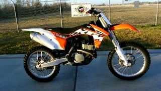 6. 2012 KTM 250 SX-F Electric Start Motocross Bike