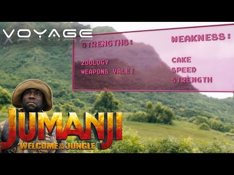 Strengths & Weaknesses | Jumanji: Welcome To The Jungle | Voyage