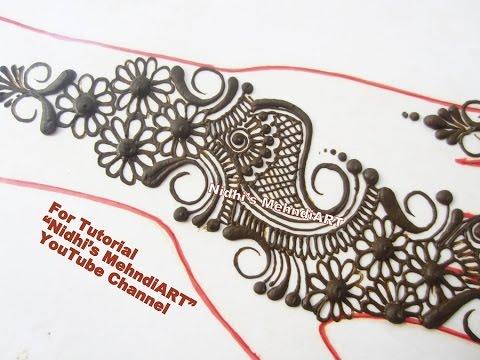 Video Arabic Mehndi Designs for Hands- Easy DIY Arabic Henna Art Creation Tutorial download in MP3, 3GP, MP4, WEBM, AVI, FLV January 2017
