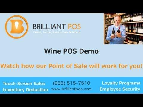 Wine POS - Point of Sale System Demo from Brilliant POS