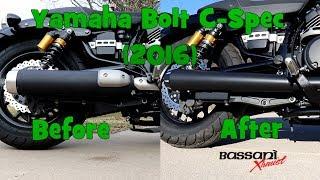 9. 2016 Yamaha Bolt C-Spec Bassani Megaphone Exhaust (I Ran Into a Problem)