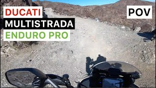 9. 2018 Ducati Multistrada 1200 Enduro Pro POV Ride