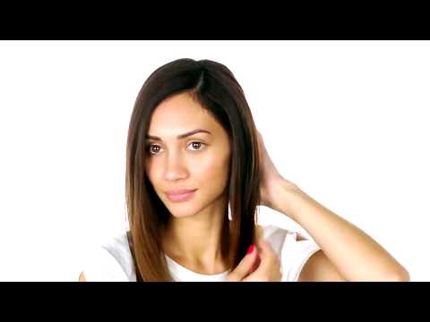 How To: Sleek Style for Wavy Hair